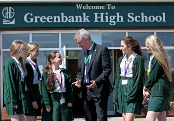 Greenbank High School Birkdale Merseyside.