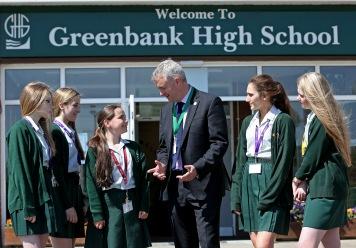 Greenbank High School Birkdale Merseyside.