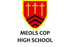 Meols Cop Logo and Name
